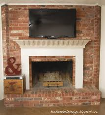 how to hide cords on wall mounted tv over brick fireplace best