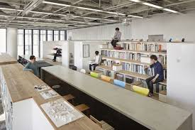 office space design. This Is An In-house Office Plan Of Our Design Office. Approximately 30 Staff Members Working In Office, Which Located The Central Part Japan\u0027s Space E