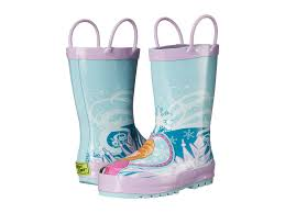 western chief kids frozen elsa anna rain boot toddler little