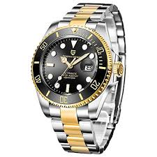 <b>Pagani Design Men's</b> Analogue Water Resistant Automatic Watch ...