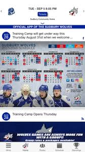 Sudbury Wolves Arena Seating Chart Sudbury Wolves Official App On The App Store