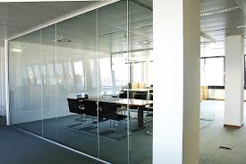 Glass Office Wall All Of Our Edging Polishing And Water Jet CNC Machinery Is Used To Guarantee The Precise Hole Notch Locations Needed For Frameless Glass Doors Office Wall