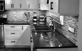 backsplash with black quartz countertops reviews for custom countertops