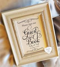 Guest Sign Book Guest Book Please Sign 8x10 Wedding Signs Cards And Gifts