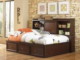 white full storage bed. Headboard: Full Size Storage Bed With Bookcase Headboard White