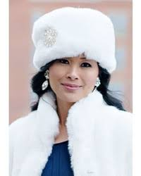 A cap gives one an a la mode look as well as keeps you warm amid winter. White Fur Hats For Women Lookastic