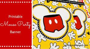Mickey Mouse Party Printables Free Free Mickey Printables Under Fontanacountryinn Com