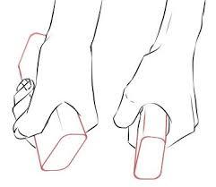 イラストポーズ集四角く細いもの刀や剣を握る手 面倒くさがりな