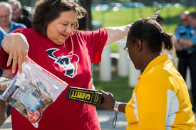 Texans fans hope season is in the bag, too