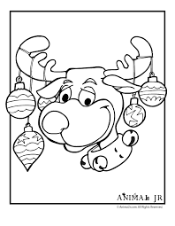 Small Picture Christmas Reindeer Coloring Pages Reindeer Coloring Pages In
