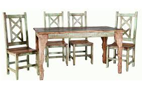 Rusticos Sierra Cabana Dining Table Collection