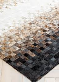 tesation by mosaic rugs luxury handcrafted black brown