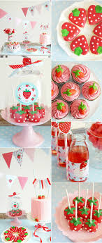 Party  Strawberry Theme, perfect for a spring fling or picnic party.