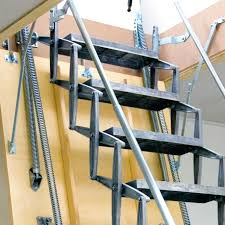 6 foot wood step ladder retractable attic stairs louisville attic ladder