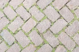 Grass Stone Floor Texture Pavement Design Stock Photo More
