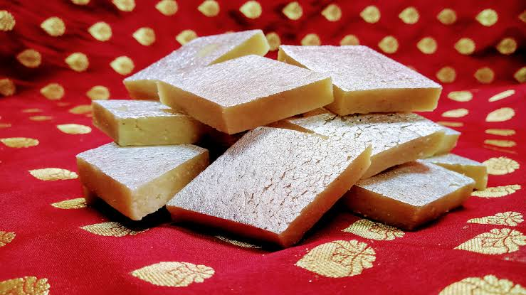 Image result for kaju katli""