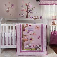lavender woods 3pc crib bedding set