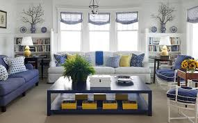 Gray And Yellow Furniture trendy color combinations for modern interior  design in blue and