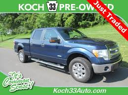 Pre-Owned 2013 Ford F-150 XLT 4D SuperCrew 4WD