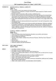Pediatric Medical Assistant Job Description For Resume