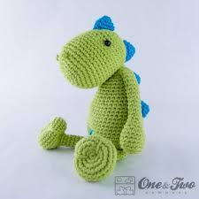 Crochet Dinosaur Pattern Adorable Dino Amigurumi Crochet Pattern