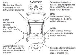 receptacle gfci wiring diagram leviton gfci outlet wiring diagram leviton image leviton plug wiring diagram wiring diagram schematics on leviton