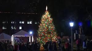 Downtown Raleigh Christmas Lights Capitol Christmas Tree Lighting