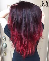 Hair Color Red Hair Purple Hair