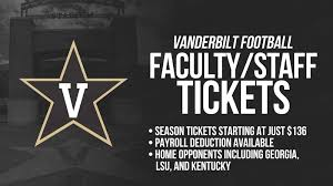 Vanderbilt Football Stadium Virtual Seating Chart Vanderbilt Faculty Staff Football Season Tickets Innervu