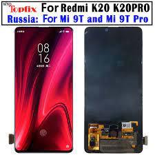 Màn Hình AMOLED 6.39 Màn Hình LCD Cho Xiaomi Redmi K20 Pro Màn Hình Hiển  Thị Màn Hình Cảm Ứng Khung Bộ Số Hóa Cho Xiaomi Mi 9T pro Màn Hình  LCD