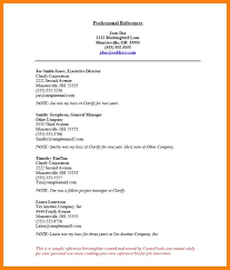 40 Reference Page For Resume The Stuffedolive Restaurant Classy Resume References Page