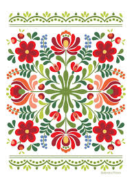 Hungarian Folk Embroidery Designs