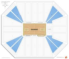 Coors Events Center Colorado Seating Guide Rateyourseats Com