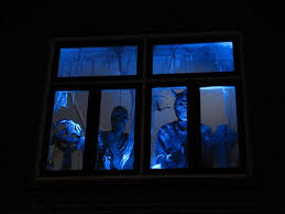 haunted house lighting ideas. our own haunted house decorated with homemade halloween props lighting ideas