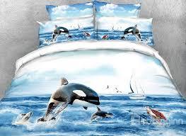 62 onlwe orcinus orca printed 4 piece 3d bedding sets duvet covers