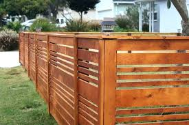 horizontal fence styles. Modern Horizontal Fence Ideas Pallet Patio Idea . Styles