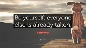 "Quote Be Yourself Everyone Else Is Taken Best Of Oscar Wilde Quote ""Be Yourself Everyone Else Is Already Taken"