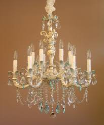 cute shabby chic lighting chandelier 13 amusing simply white iron chandeliers with candle and crystal blue