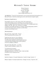 Qa Manual Testing Resume Sample Tester With 5 Years Experience For
