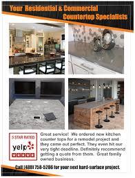 residential commercial countertop fabricator installer commercial granite countertops