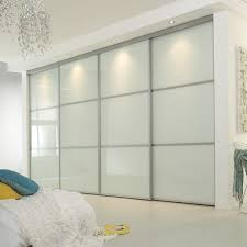 cupboard bedroom be equipped sliding wardrobe doors with glass panel closet door plus closet lighting giving the impression of luxury to your room
