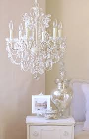 lovely chandelier light for girls room 8 nursery white