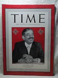 TIME Magazine April 27 1942 WWII The German Fuhrer's PIERRE LAVAL | eBay