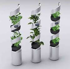 Picture Of edn vertical garden system for growing up to 21 vegetables 5