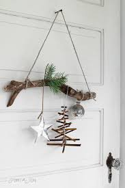 Blog  Website For New IdeasWooden Branch Christmas Tree
