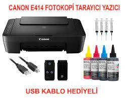 Canon PIXMA E414 Yazıcı Fiyatı ve Özellikleri - GittiGidiyor