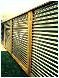 corrugated steel fence corrugated metal fence cost in corrugated metal fence cost design corrugated metal privacy