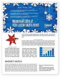 Winter Newsletter Templates In Microsoft Word Adobe