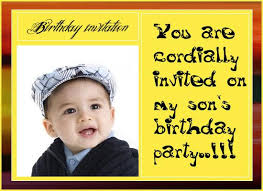 boys birthday invitation post card