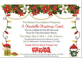 toys for tots donation party montgomery county police reporter
